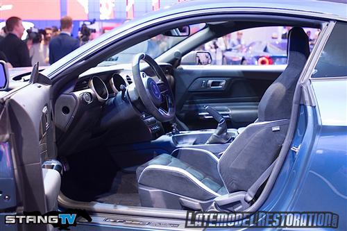 2016 Mustang Shelby GT350R Specs & Pictures - 2016 shelby gt350r recaro seats