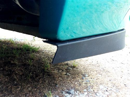 Fox Body Mustang LX Chin Spoiler Installation - Mustang LX Chin Spoiler Installation (Fox Body)